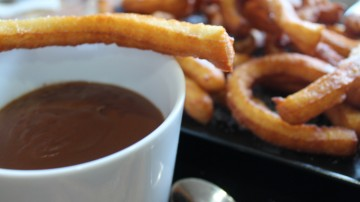 Churros veganos